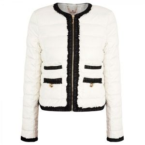 Juicy Couture Quinn Quilted Puffer Jacket Coat M